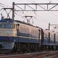 Photos: 試9690レ EF60 19+マニ50-2185+EF65 501