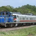 9501レ KD60 3+キヤE193系秋アキID-21編成 3両