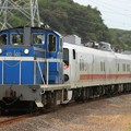 Photos: 9502レ KD60 3+キヤE193系秋アキID-21編成 3両