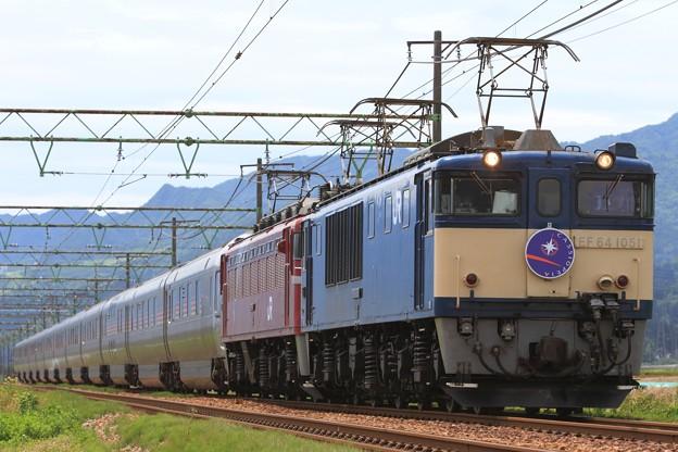 9011レ EF64 1051+EF81 81+E26系 12両