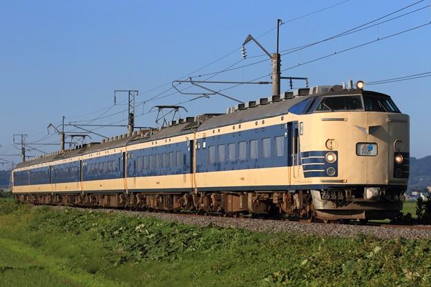 Photos: 回9612M 583系秋アキN-1+N-2編成 6両