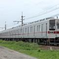 Photos: 臨貨8009レ デキ502+東武10030系11443F+11639F 10両