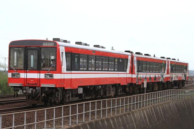 123D 鹿島臨海鉄道6000形6013+6006+6018 3両