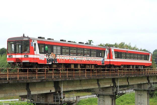 152D 鹿島臨海鉄道6000形6006+6013 2両