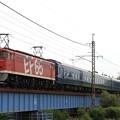 Photos: 試9501レ EF65 1118+24系 6両