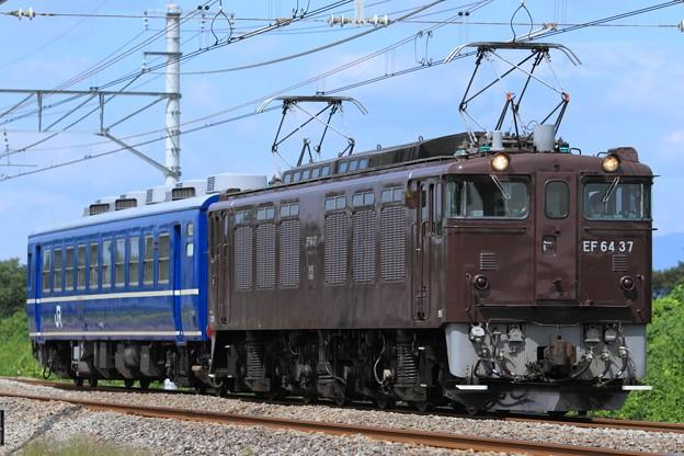 Photos: 回9970レ EF64 37+オヤ12-1