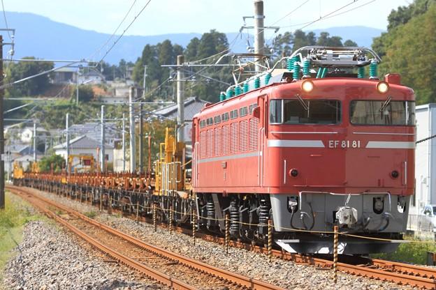 工9581レ EF81 81+チキ