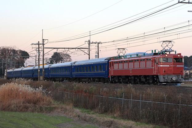 試9502レ EF81 81+24系 6両