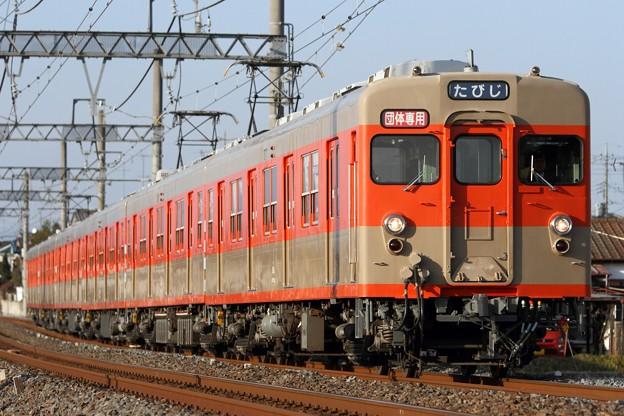 臨5598レ 東武8000系8111F 6両