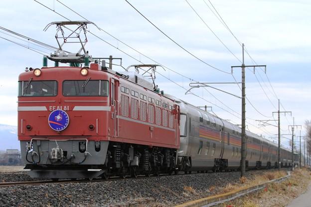 8010レ EF81 81+E26系 12両
