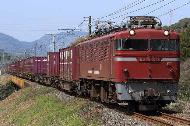 1063レ ED76 1017+コキ