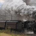 試9232レ D51 498+旧型客車 5両