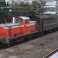試9742レ DD51 895+旧型客車 1両(スハフ42-2234)+DD51 842