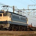 Photos: 工9773レ EF65 1102+チキ