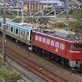 Photos: 配9128レ EF81 140+E231系宮ヤマU20編成 5両