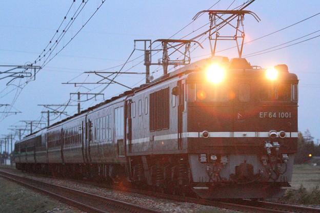 Photos: 回9742レ EF64 1001+12系 7両