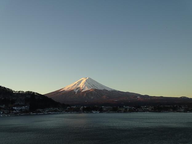 河口湖富士2017