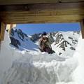 写真: 雪洞