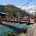 写真: 河童橋