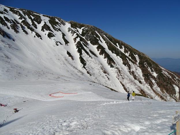 Photos: 雪渓
