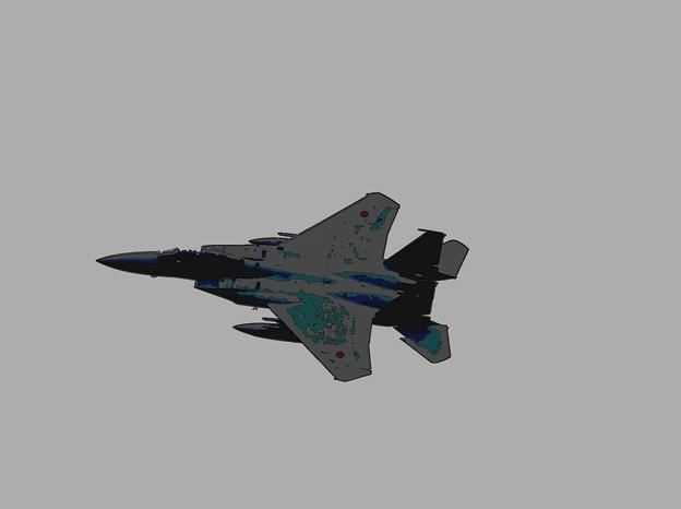 写真: シルクスクリーンF-15J
