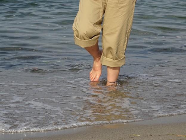 裸足の季節