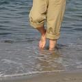 写真: 裸足の季節