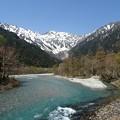 写真: 川景色
