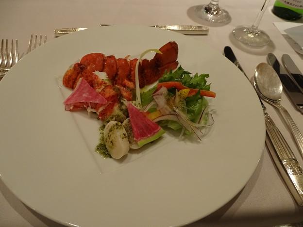 オマール海老のサラダ仕立て