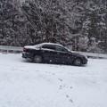 写真: 北部では雪の予報