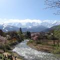 Photos: 雪融け川
