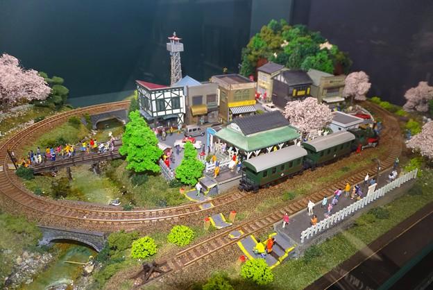 坊ちゃん列車ジオラマ