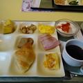 Photos: 奥道後で朝食を