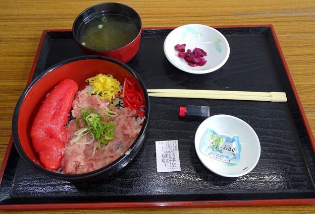 ネギトロ明太子丼