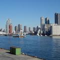 写真: 竹芝桟橋からの隅田川上流 (港区海岸)