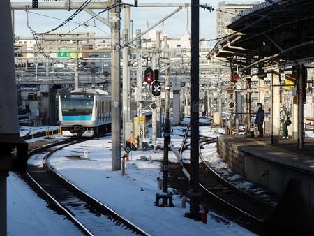 京浜東北線上野駅 (台東区上野)
