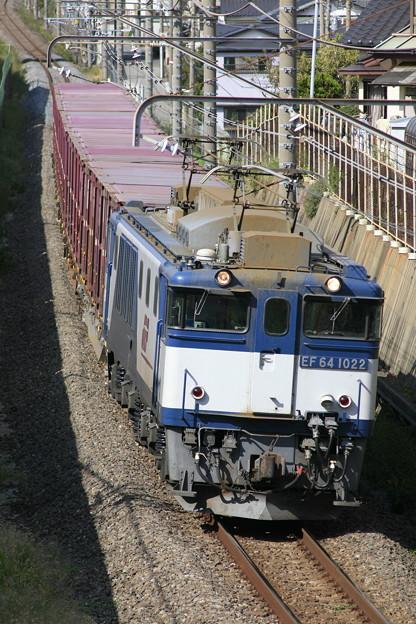 【日々の演習】 73レ 鹿島貨物@幕張本郷のお立ち台1号