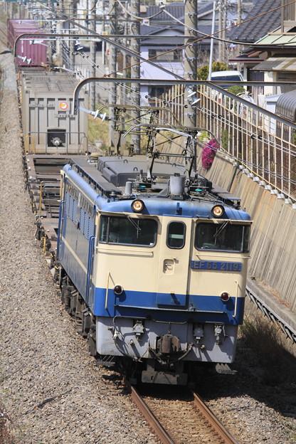 Photos: _MG_2416 「蘇我貨物」1091レに運用されるEF65 2119[鶴]