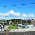 写真: ぷかりん雲