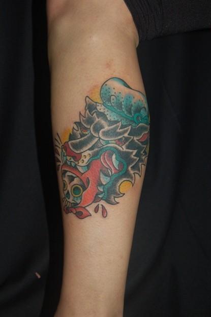 ブラックパンサーのタトゥー black panther tattoo