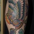 Photos: フクロウのタトゥー Owl Tattoo