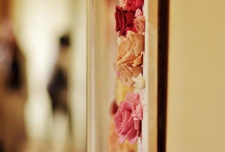 壁の花。 「2013 横浜山手西洋館 〜花と器のハーモニー〜横濱プロムナーデ〜初夏のお散歩〜」