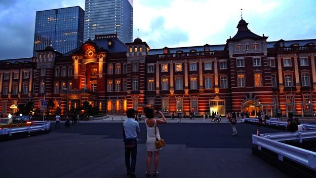 東京駅だよ、おとっつぁん。