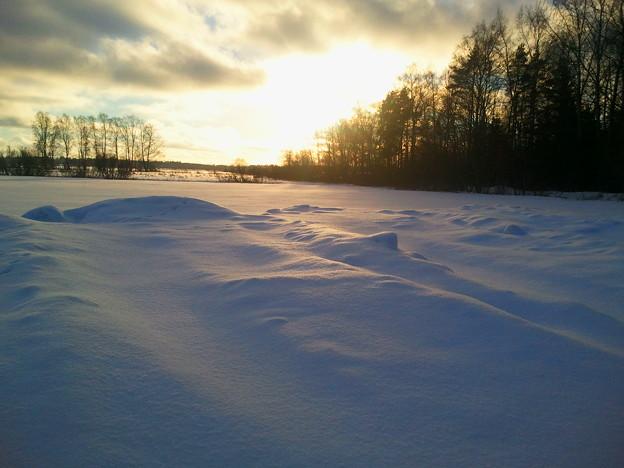 Hunting ski trails