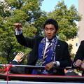 サンフレッチェ広島 J1優勝パレード 水本裕貴 増田卓也