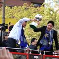 サンフレッチェ広島 J1優勝パレード 千葉和彦 森脇良太