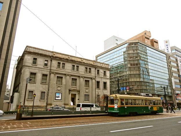 旧日本銀行広島支店 広島電鉄 袋町電停