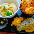 讃岐うどん 幅屋 udon habaya Hiroshima しょうゆうどん あなご天丼 tendon tempura tenpura 広島市南区皆実町6丁目