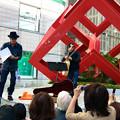 コブクロ ストリートライブ 登場 2013年10月18日 アリスガーデン 広島市中区新天地