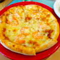 CALIFORNIA カリフォルニア カルフォルニア 101 ピザ PIZZA ワンオーワン ランチ たまねぎ エビ ピザ 呉市光町